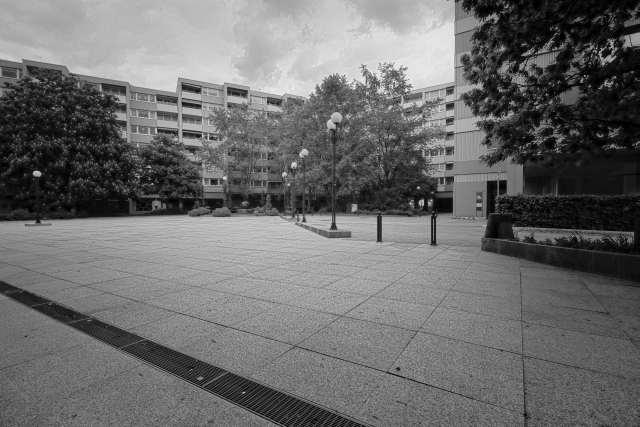 Rathausplatz in Wörth am Rhein
